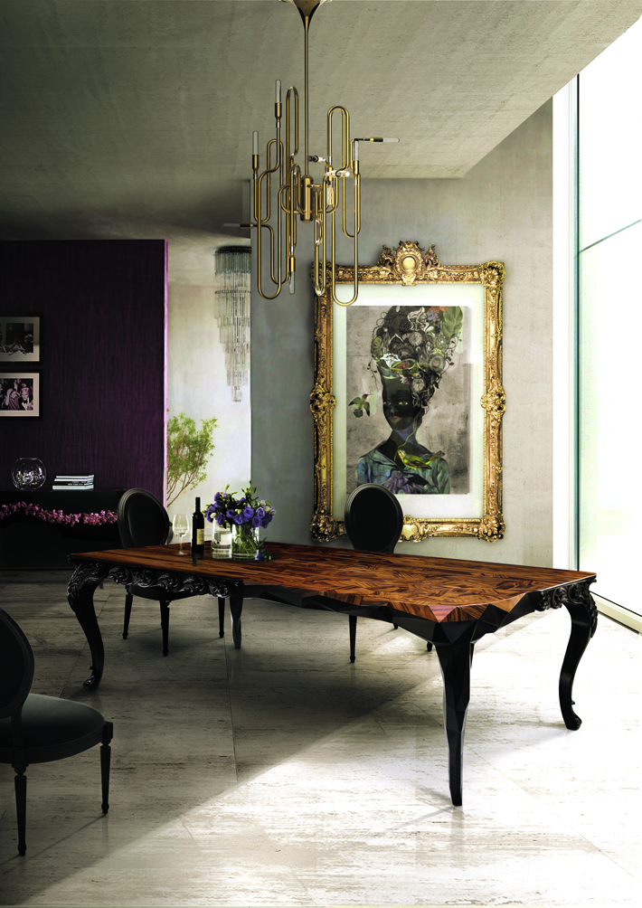 """the most exclusive dining tables"" Royal Royal the most exclusive dining tables"