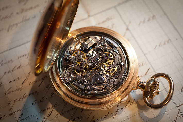 """This pocket time piece is comprised of 900 parts and took 5 years to manufacture."" Most Expensive Watch Most Expensive Watch: The Henry Graves Super Complication 12   12"