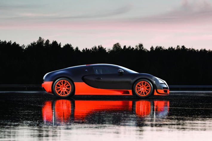 """The Bugatti Veyron is available for rent for £ 16,500 (approximately $26,000 USD) for a day."" Bugatti Bugatti Veyron: The World's Fastest & Most Expensive Car Rental 35"