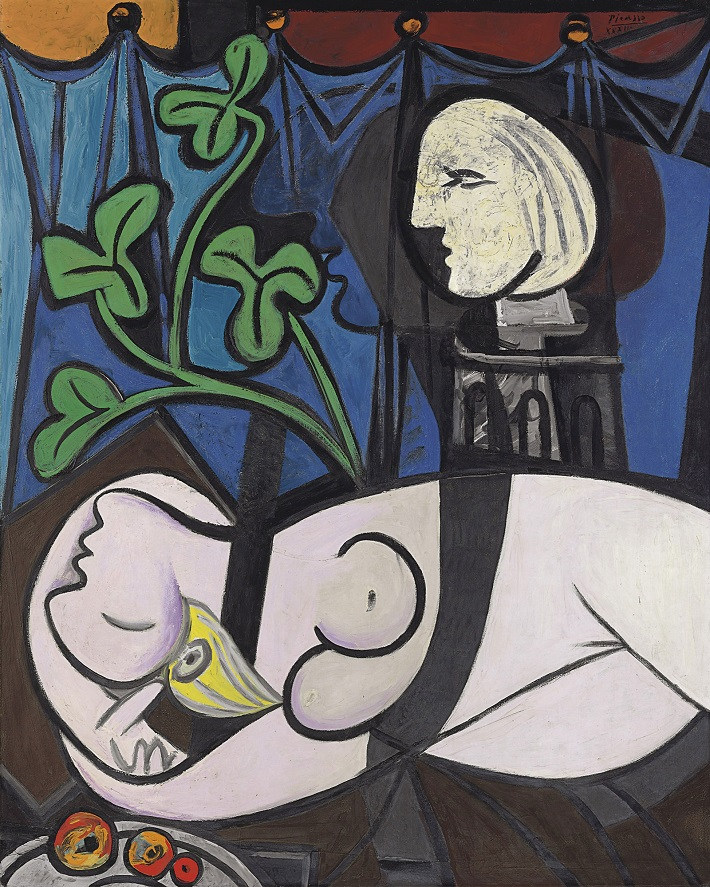 The 10 most expensive paintings ever sold most expensive paintings The 10 most expensive paintings ever sold Pablo Picaso Nude Green Leaves and Bust