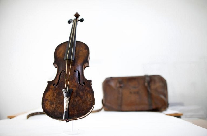 UNIQUE PIECES: TITANIC VIOLIN SOLD FOR A WORLD RECORD UNIQUE PIECES: TITANIC VIOLIN SOLD FOR A WORLD RECORD UNIQUE PIECES: TITANIC VIOLIN SOLD FOR A WORLD RECORD design limited edition unique pieces titanic violin sold for a world record2