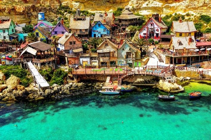 Most Beautiful Villages in the World Beautiful Villages Most Beautiful Villages in the World popeye village maltaa