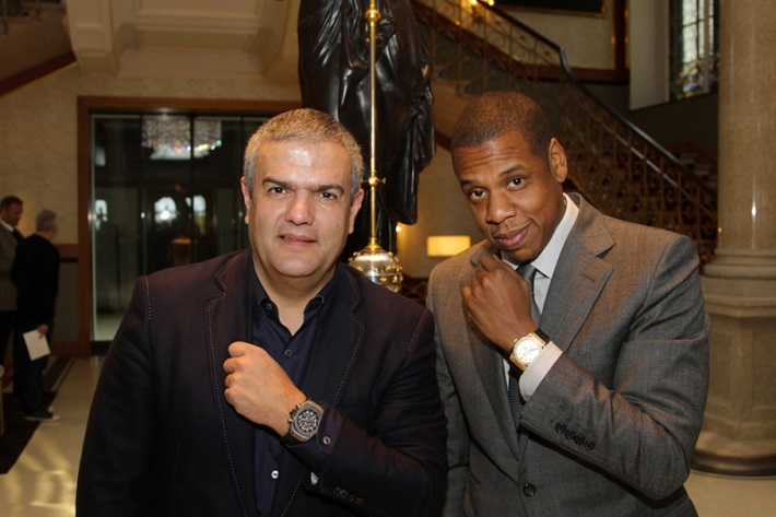 Limited edition watches: Jay-Z for Hublot Limited edition watches: Jay-Z for Hublot Limited edition watches: Jay-Z for Hublot 09dea3d2 2013 10 20 hublot jay z unveil the classic fusion shawn carter by hublot collection 01 1
