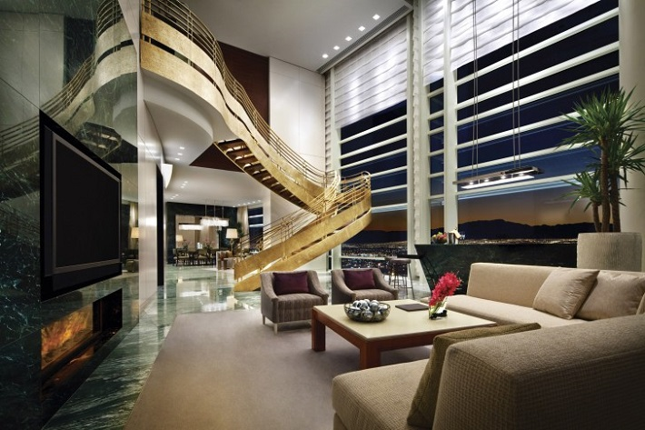 The most exclusive hotel suites in the world hotel suites The most exclusive hotel suites in the world sky villa suite aria resort and casino   sky villa suite aria resort and casino