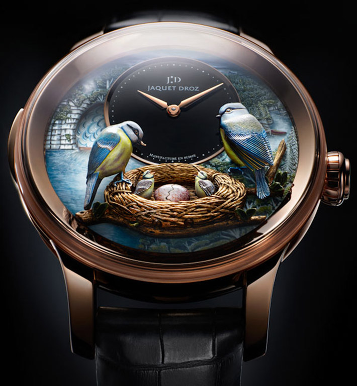 Watch Preview At BaselWorld 2014 Watch Preview At BaselWorld 2014 Watch Preview At BaselWorld 2014 Jaquet Droz The Bird Repeater Watch