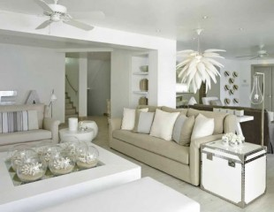 """Interior designers and their living room sets "" Interior designers and their living room sets  Interior designers and their living room sets  White Living Room Interior for Spring by Kelly Hoppen London UK1 310x240"