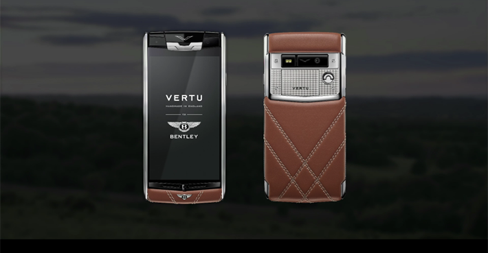 The new Bentley's Smartphone The new Bentley's Smartphone The new Bentley's Smartphone vertu for bentley 0