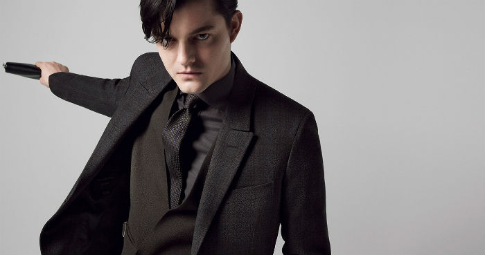 Most Expensive Men's Suits in the World Most Expensive Men's Suits in the World Most Expensive Men's Suits in the World Ermenegildo Zegna Autumn Winter 2014 15 Advertising Campaign featuring Sam Riley