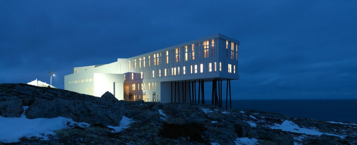 National Geographic's Unique Lodges of the World National Geographic's Unique Lodges of the World National Geographic's Unique Lodges of the World fogo island inn1