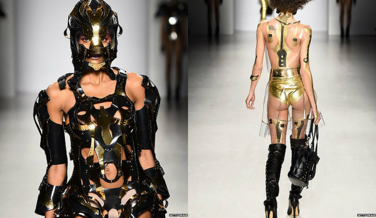 New York Fashion Week 2015: Weirdest looks so far New York Fashion Week 2015: Weirdest looks so far New York Fashion Week 2015: Weirdest looks so far collage81