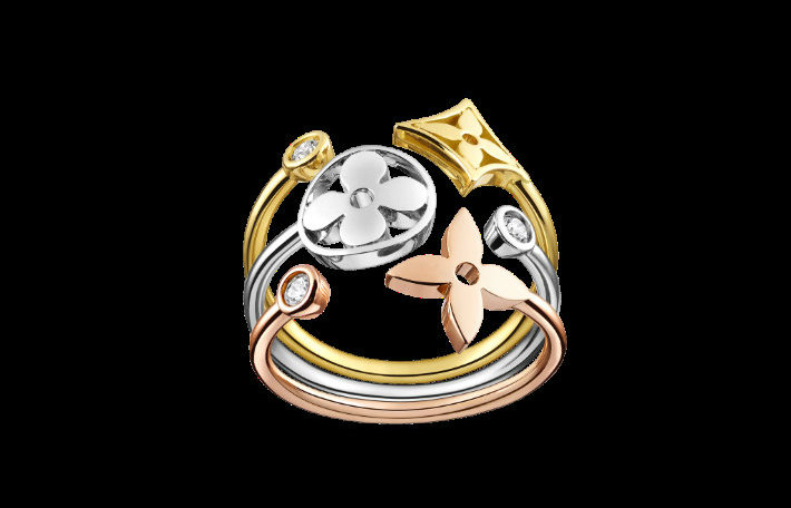 Louis Vuitton's Monogram Idylle Louis Vuitton's Monogram Idylle Louis Vuitton's Monogram Idylle zoom idylle ring1