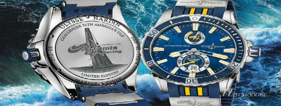 The Exclusive Edition of Artemis Watch Artemis Watch The Exclusive Edition of Artemis Watch Ulysse Nardin Artemis Racing Watch1