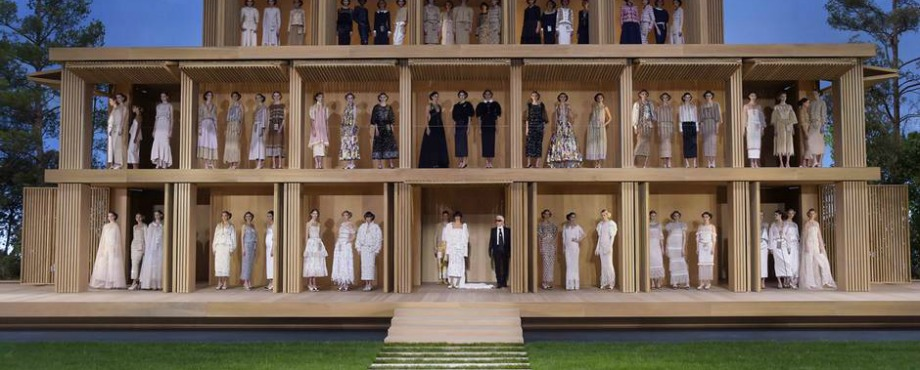 ECO is Chanel's Newest Haute Couture Collection haute couture ECO is Chanel's Newest Haute Couture Collection eco fashion eco chanel 11