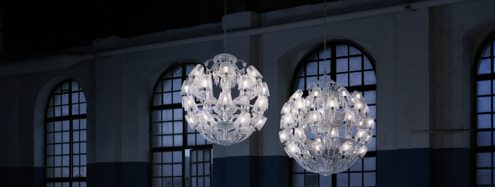 Le Roi Soleil by Marcel Wanders is Adjourned with Crystal Shades