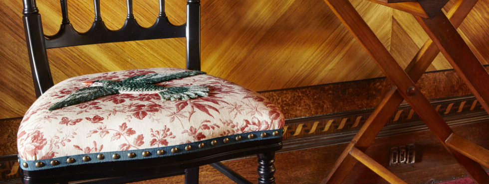 Gucci Applies Latest Fabric Motifs to Limited-Edition Chairs
