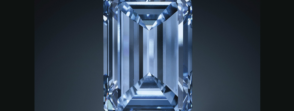 The Oppenheimer Blue Diamond Sells for a Record $57.5 Million Blue Diamond The Oppenheimer Blue Diamond Sells for a Record $57.5 Million Feature 17