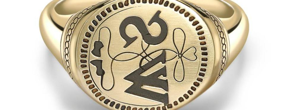 George Pragnell Recreates Shakespeare's Jewelry Signet George Pragnell George Pragnell Recreates Shakespeare's Jewelry Signet Feature 2