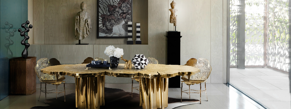 5 Limited Edition Dining Tables for a  Wonderful Dining Experience