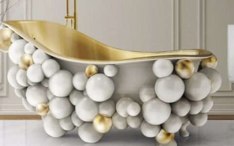 Luxury Bathrooms Luxury Bathrooms: the Best Choices for Glamorous Interiors Ambiente Waterfall Pendant 480x300