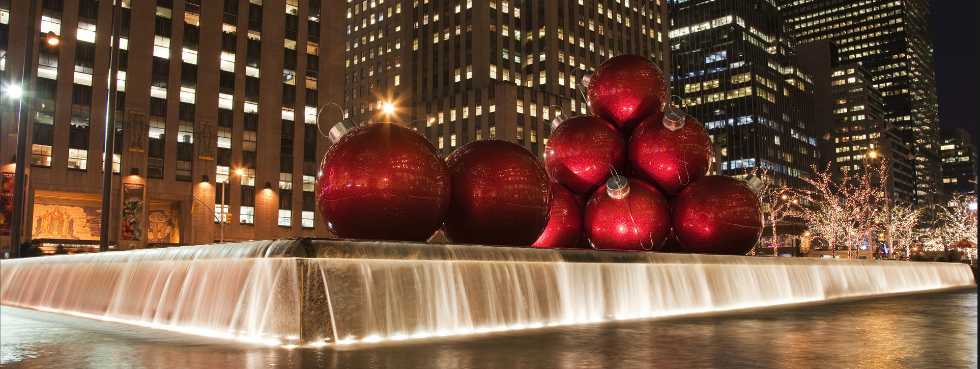 The best Christmas Hotels in New York for Luxurious Lobbies Lovers