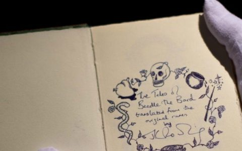 Rowling Sotheby's: Discover the Rarest Book J.K. Rowling Ever Made Feature 8 480x300