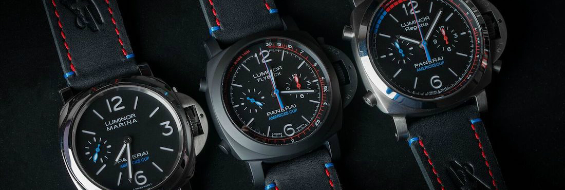Panerai's Limited Edition For The America's Cup