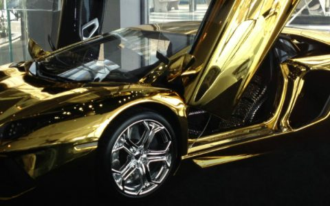 solid gold Most Expensive Items Made of Solid Gold 101039516 Golden Lambo 480x300