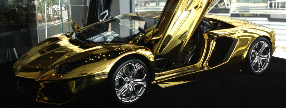 Most Expensive Items Made of Solid Gold solid gold Most Expensive Items Made of Solid Gold 101039516 Golden Lambo