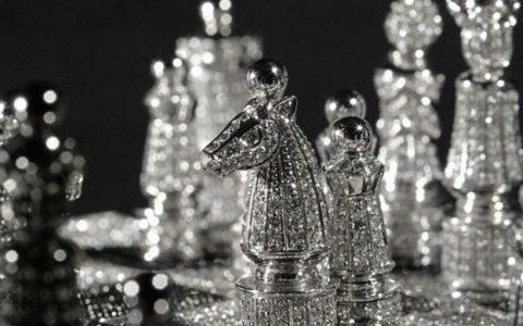 diamond Diamond Chess Set by Charles Hollander Collection Royal Diamond Chess Set 750x390 480x300