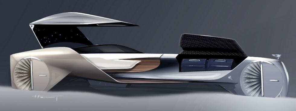 Rolls-Royce Reveals Luxury Driverless Car Concept