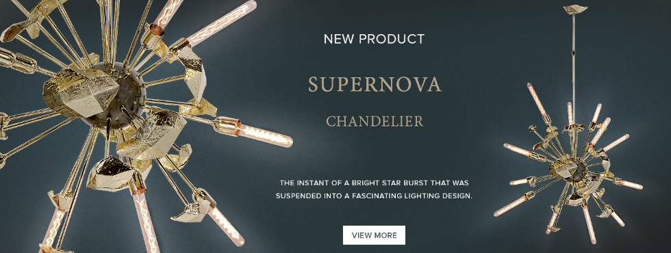 Supernova: A Limited Edition Chandelier from Outer Space