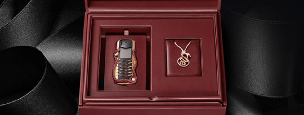 Vertu Signature Cobra Limited Edition Phone limited edition Vertu Signature Cobra Limited Edition Phone mm