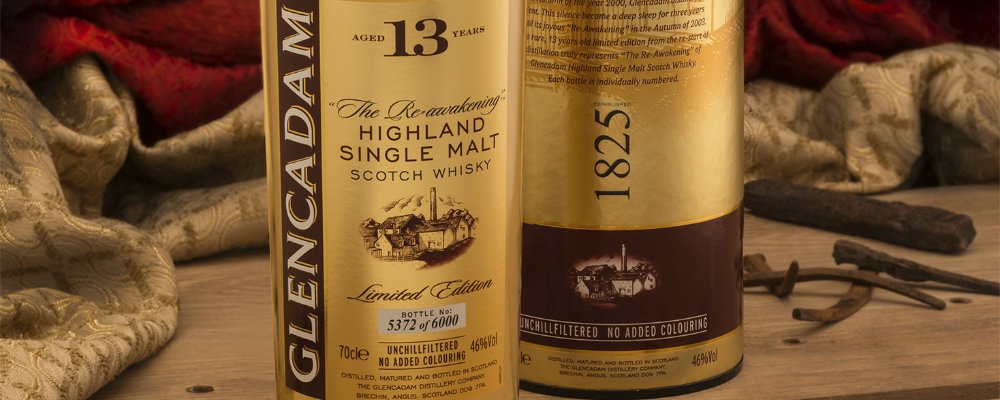 Limited Edition 13-Year-Old Whisky by Glencadam Distillery