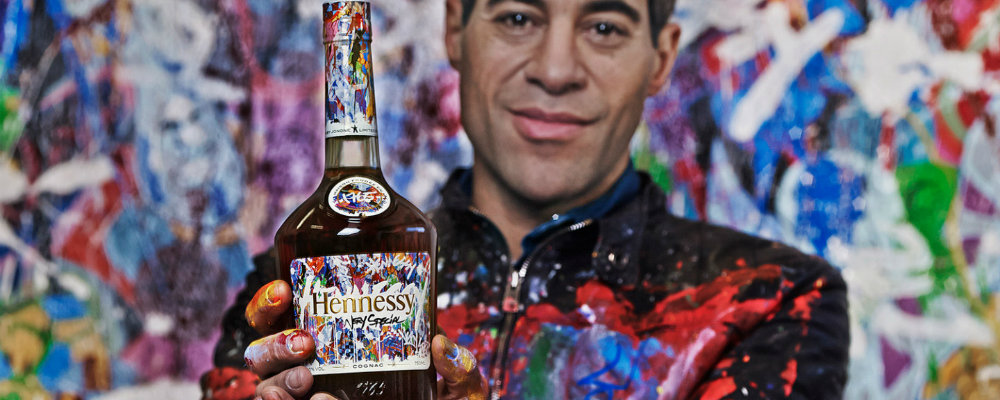 Hennessy and JonOne for the most beautiful Limited Edition Bottle hennessy Hennessy and JonOne for the most beautiful Limited Edition Bottle hennesy
