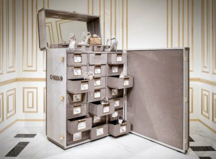 Memento Trunk - Jimmy Choo's Amazing Shoe Cabinet Design jimmy choo Memento Trunk – Jimmy Choo's Amazing Shoe Cabinet Design 00000 420x311