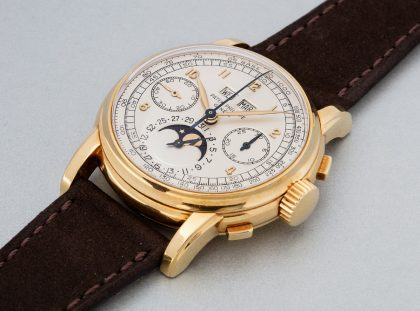 Luxury Christmas Gifts: the most special vintage watches on earth Christmas Gifts Luxury Christmas Gifts: the most special vintage watches on earth Patek Philippe extremely rare yellow gold perpetual calendar chronograph 1956 sold for CHF 1685000             420x311
