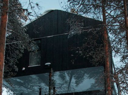 The Treehouse Hotel in the Swedish Forest Designed by Snøhetta treehouse hotel The Treehouse Hotel in the Swedish Forest Designed by Snøhetta 980x 420x311