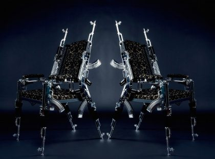 Limited Edition: Original Design AK47 Chair ak47 chair Limited Edition: Original Design AK47 Chair Limited Edition Original Design AK47 Chair       420x311