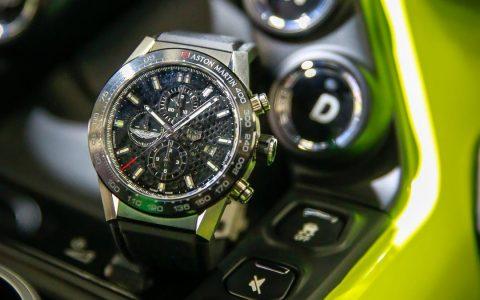 tag heuer Tag Heuer & Aston Martin: Special Edition Timepiece Celebrates Luxury Partnership reloj tag heuer aston martin carrera 1 480x300