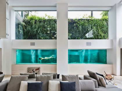 Art Collector: Apartment Showcases its Pool Art Collector Art Collector: Apartment Showcases its Pool Art Collectors Apartment Showcases its Pool 1   420x311