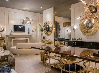 Luxury and Contemporary Furniture in Salone del Mobile Moscow 2018