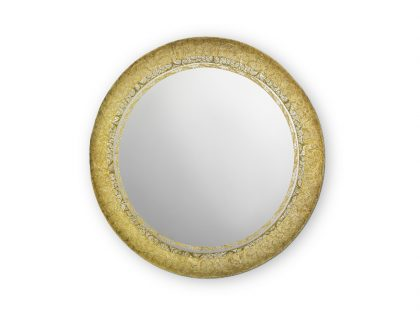 New Round Mirror by Boca do Lobo - A Notable Craftsmanship Piece round mirror New Round Mirror by Boca do Lobo – A Notable Craftsmanship Piece feature new round mirror  420x311