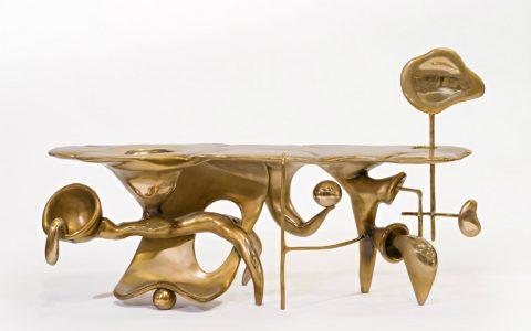 craftsmanship Craftsmanship: Get Impressed by Stunning Pieces of American Arts and Crafts MishaKahn Tingle Tangle Mingle Mangle 2017 BronzeCourtesy of Friedman Benda and Misha Kahn 480x300