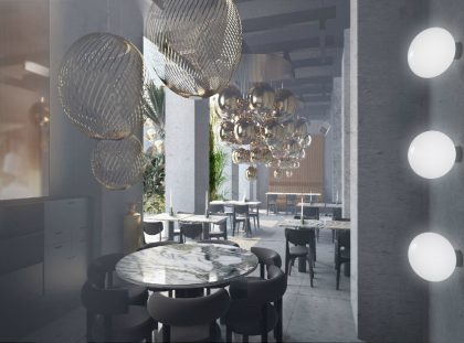 Get Impressed by The Manzioni - A Design Project by Tom Dixon in Milan