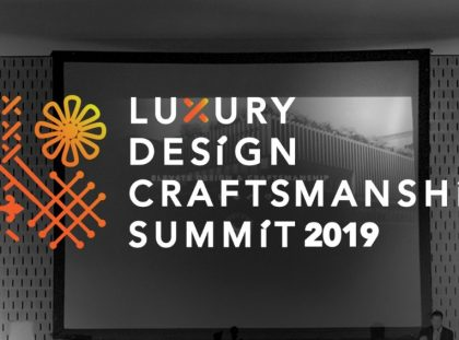 Luxury Design & Craftsmanship Summit 2019_ Meet The Speakers FT luxury design Luxury Design & Craftsmanship Summit 2019: Meet The Speakers II Luxury Design Craftsmanship Summit 2019  Meet The Speakers FT 1 420x311