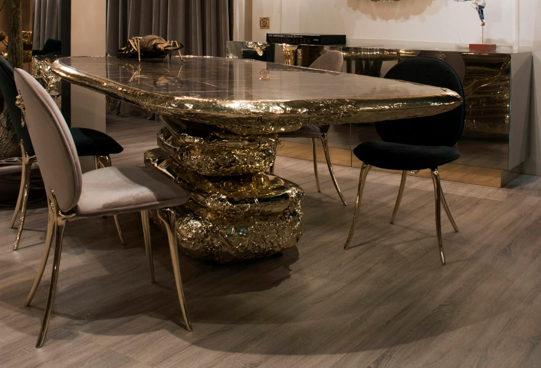 Exquisite Luxury Dining Tables For An Imposing Dining Room Design Limited Edition
