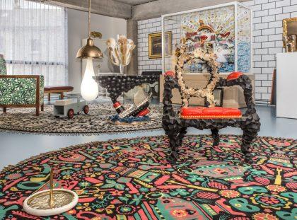 Studio Job's Wild and Wonderful Apartment and Antwerp Headquarters FT