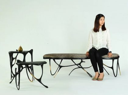 Furniture Design Inspired By Chinese Handwritting FT