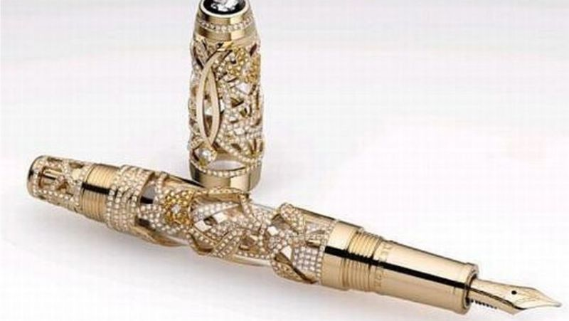 10 Of The Most Expensive Pens In The World (2) expensive pens 10 Of The Most Expensive Pens In The World 10 Of The Most Expensive Pens In The World 2