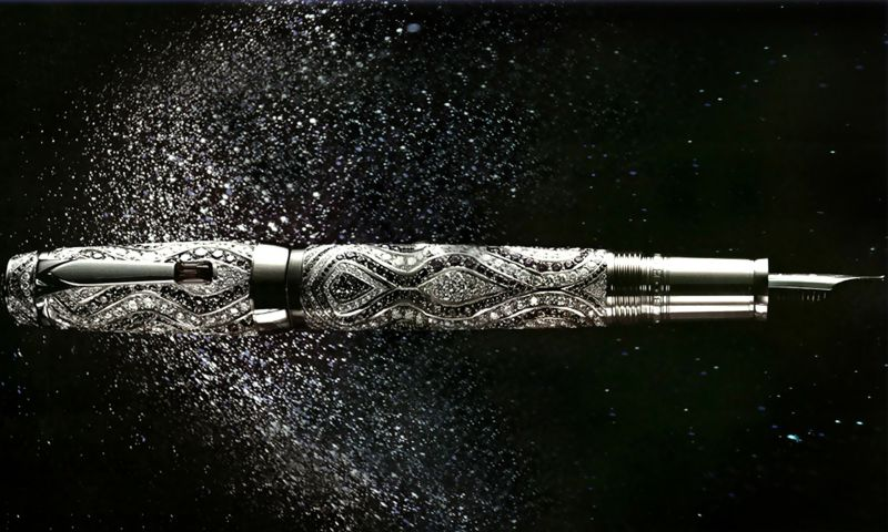 10 Of The Most Expensive Pens In The World (9) expensive pens 10 Of The Most Expensive Pens In The World 10 Of The Most Expensive Pens In The World 9